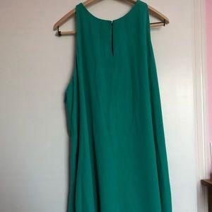 Turquoise LOFT dress